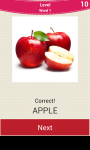 Fruit And Vegetable Names screenshot 1/6