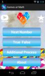 Games at math screenshot 1/5