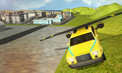 Flying Limo Car Simulator screenshot 1/3