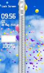 Balloon Zipper Lock Screen screenshot 4/6