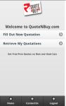 Quote N Buy screenshot 3/4