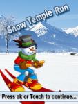 Snow Temple Run screenshot 2/3