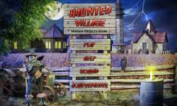 Free Hidden Object Games - Haunted Village screenshot 1/4