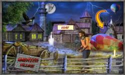 Free Hidden Object Games - Haunted Village screenshot 2/4