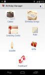 Birthday Manager PRO screenshot 1/5
