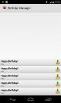 Birthday Manager PRO screenshot 4/5