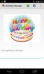 Birthday Manager PRO screenshot 5/5