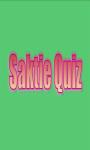 Saktie Quiz screenshot 1/4