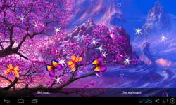 3D Peach blossom Live Wallpaper screenshot 1/5