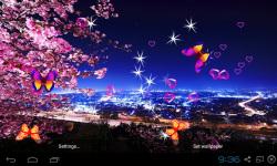 3D Peach blossom Live Wallpaper screenshot 2/5