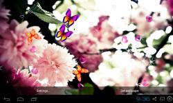 3D Peach blossom Live Wallpaper screenshot 3/5