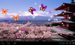 3D Peach blossom Live Wallpaper screenshot 4/5