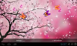 3D Peach blossom Live Wallpaper screenshot 5/5