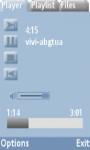 Glass Player Lite screenshot 1/3