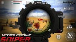 Zombie Assault Sniper select screenshot 5/6