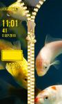 Koi Fish Zipper Lock Screen screenshot 6/6