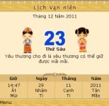 Lịch vạn niên 2012 screenshot 2/6