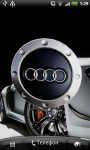 Audi Logo 3D Live Wallpaper screenshot 1/6