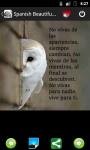 Spanish Beautiful Phrases screenshot 1/5