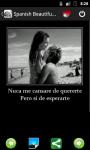 Spanish Beautiful Phrases screenshot 4/5