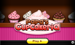 Papas Cupcakeria1 screenshot 1/6