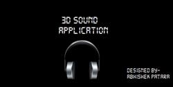 3D sounds app screenshot 1/2