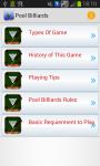Pool Billiards Game screenshot 1/3