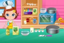 Sweetie makes cake screenshot 4/5