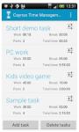 TimeManagement pro free screenshot 4/6