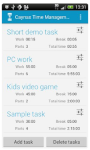 TimeManagement pro free screenshot 6/6