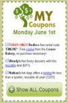 My Coupons for Android screenshot 1/1