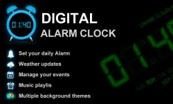Digital Alarm Clock Free screenshot 1/6