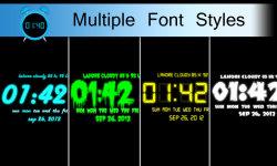 Digital Alarm Clock Free screenshot 3/6
