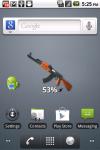 AK-47 Battery Widget screenshot 1/3