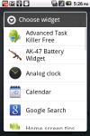 AK-47 Battery Widget screenshot 3/3