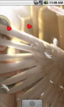 White Angel Live Wallpaper screenshot 2/4