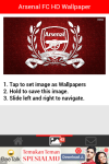Arsenal FC HD Wallpaper  screenshot 2/4