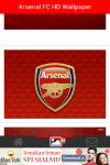 Arsenal FC HD Wallpaper  screenshot 3/4