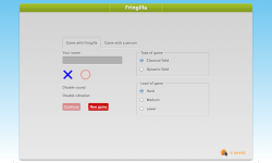 fringilla - tic tac toe screenshot 2/5
