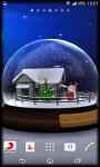 3D SnowGlobe Live Wallpaper screenshot 5/5