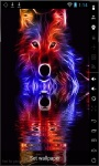 Colorful Wolf Live Wallpaper screenshot 1/2