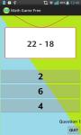 Math Game for Free screenshot 2/4