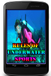 Rules of Underwater sports  screenshot 1/3
