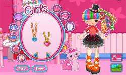 LalaLoopsy Jewel Sparkles Dress Up screenshot 2/4