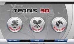 3D Tennis hd screenshot 6/6