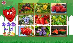 Puzzles for kids berries screenshot 2/6