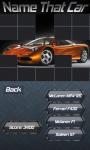 Name That Car screenshot 1/5