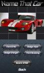Name That Car screenshot 2/5