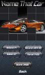 Name That Car screenshot 5/5