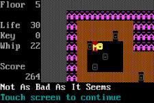 ASCII Adventure: The Caves of Isna Lite screenshot 2/5